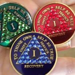 Recovery medallions from aa shop The Latest Thing