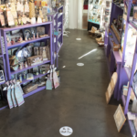 Interior of spiritual gift shop The Latest Thing